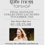 Dernière collection Kate Moss pour Top Shop