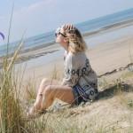 À vélo dans les dunes normandes
