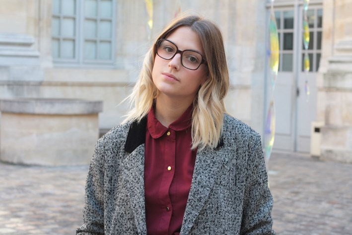 Carrées Youmakefashion – Femme À Lunettes… lKJcTF1