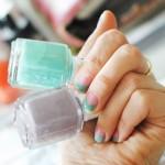 Conseils vernis : nails art triangle DIY #1