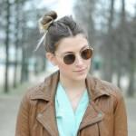 Look pastel #2 : menta y fresa + Concours RAYBAN