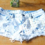 DIY #15 : short tie and dye étoilé