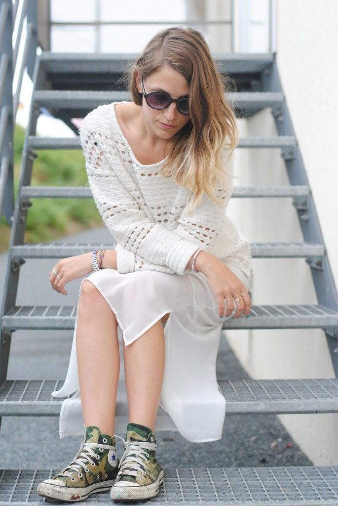 robe pull converse L'excale