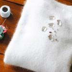 DIY #22 : pull parure angora