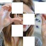 Femme à lunettes