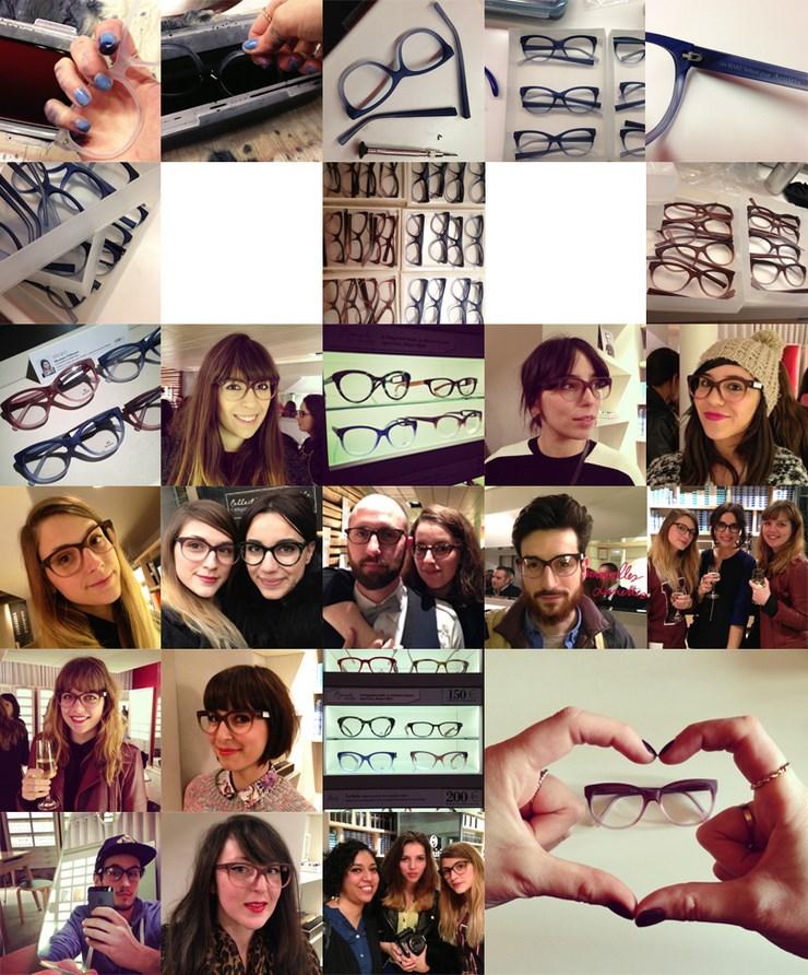 Les lunettes CELINE portée par Kim L'Opticien Concept