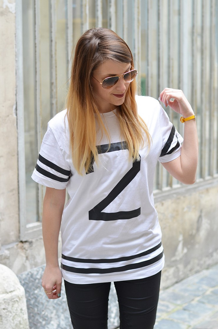 Diy 33 baseball t shirt youmakefashion for Garderobe 33 style blog