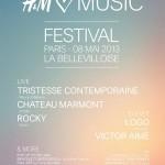 Concours : H&M festival