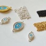 DIY #42 : bracelets œil porte-bonheur