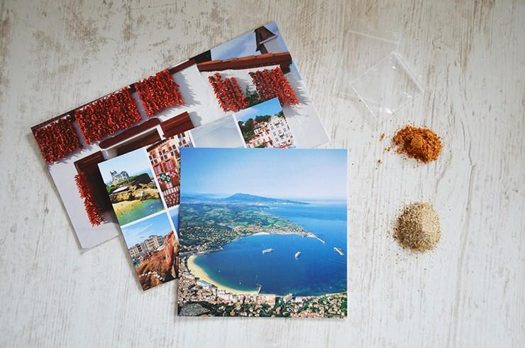 DIY #45 // carte postale et poudre de vacances - youMAKEfashion