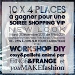 CONCOURS : SHOPPING & DIY PARTY CHEZ NEW LOOK