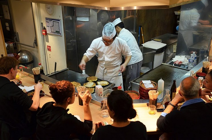 01er restaurant japonais aki tour du monde - Restaurant japonais cuisine devant vous ...