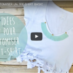 10 DIYS pour CUSTOMISER UN TEE-SHIRT BASIC