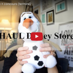 HAUL Disney Store + CONCOURS