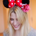 DIY à DISNEYLAND PARIS : OREILLES DE MINNIE FLEURIES