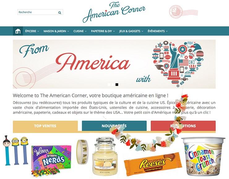 the american corner eshop usa