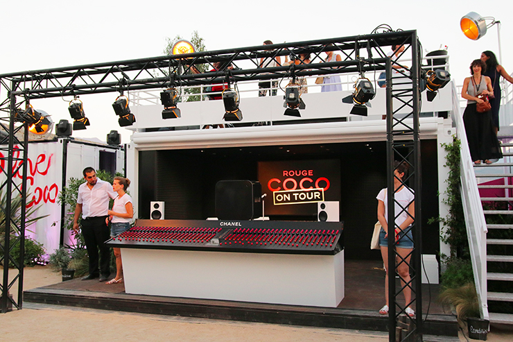 chanel i love coco calvi on the rocks festival 2016 rouge coco on tour 7