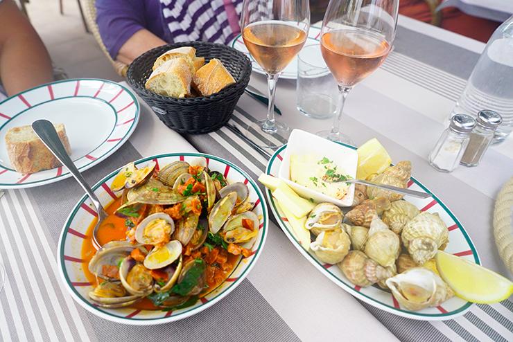 restaurant poisson socoa pays basque bonne adresse Arraina 2