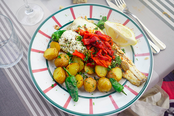 restaurant poisson socoa pays basque bonne adresse Arraina 3