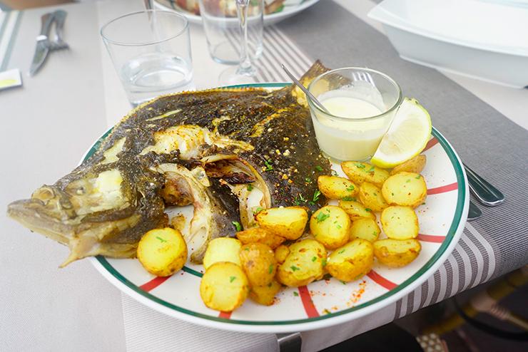 restaurant poisson socoa pays basque bonne adresse Arraina 4