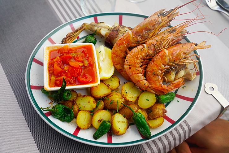 restaurant poisson socoa pays basque bonne adresse Arraina 6