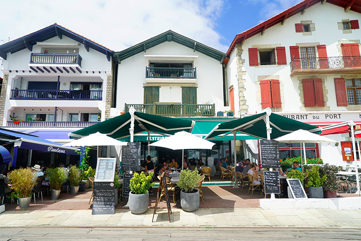 restaurant poisson socoa pays basque bonne adresse Arraina