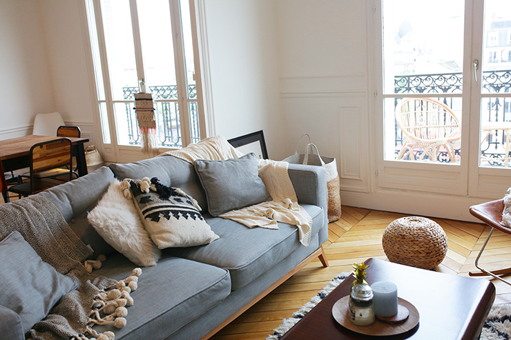 Room tour youmakefashion for Inspiration appartement