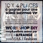 ATELIER DIY POUR NEW LOOK