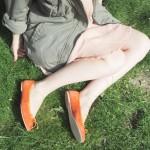 Des oranges à la place des pieds