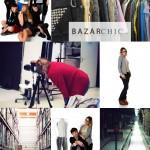 Shooting chez Bazar Chic