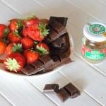 Recette #11 : fraises au chocolat-piment d'Espelette