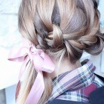 HAIR ACCESSORIES DIY #3 : nœud ruban do it yourself