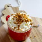 RECETTES GOÛTER EXPRESS : gingerbread latte et crumble micro onde