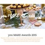 you MAKE Awards 2015 : C'EST VOUS QUI VOTEZ !