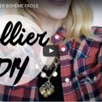 DIY MODE : COLLIER BOHÈME FACILE